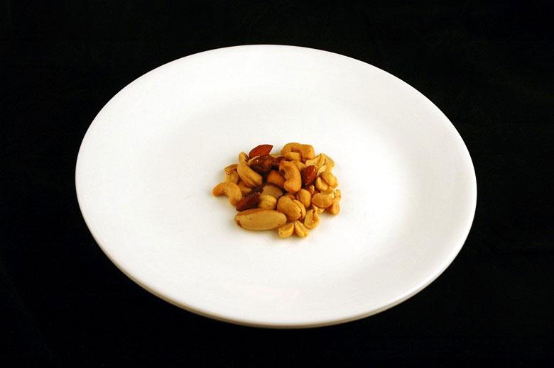 Így néz ki 200 kalória különböző mindennapi ételekből..